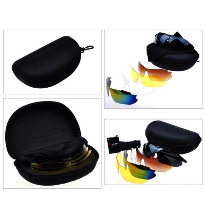 5 Interchange Lenses Cycling Sunglasses