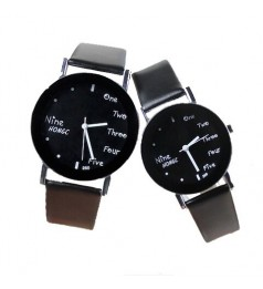 Korean Fashion Couple Watches