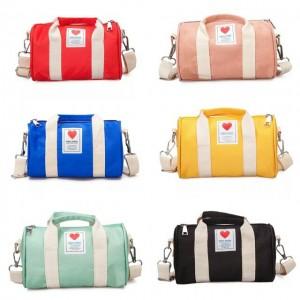 High Grade Korean Fashion Canvas Small Duffel Sling Bag