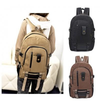 Korean Canvas Laptop Backpack