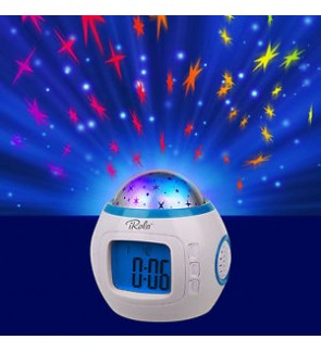 Starry Laser Table Clock