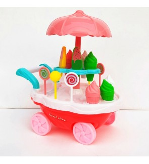 Kids Toy Ice Cream Cart