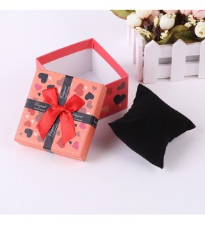 Ribbon Watch Box with Cushion