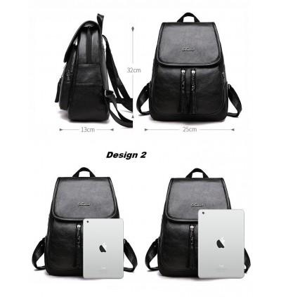 TonyaMall Backpack ALL Black Series