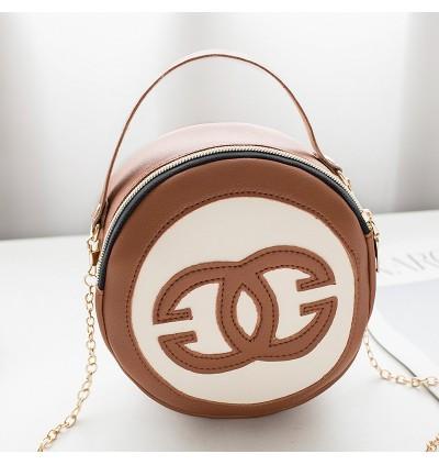 TonyaMall Ladies Round Sling Bag
