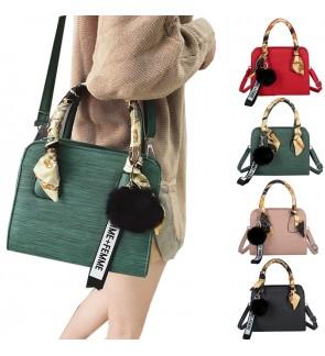 TonyaMall Japanese Kazumi Ladies Sling Bag / Hand Bag with Scarf