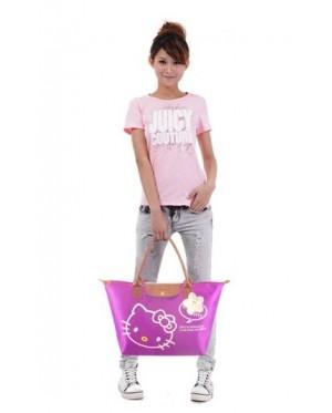 Fun Colorful Fashion Hello Kitty Foldable Tote Bag