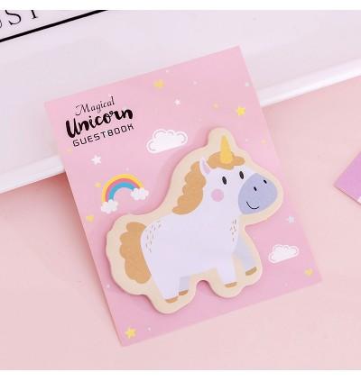 [MalaysiaReadyStock] Set of 4 Unicorn Sticky Note Memo Pad