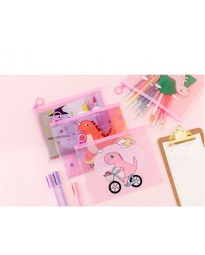 [MalaysiaReadyStock] Dinosaur Design Stationery Organizer Pouch / Pencil Case