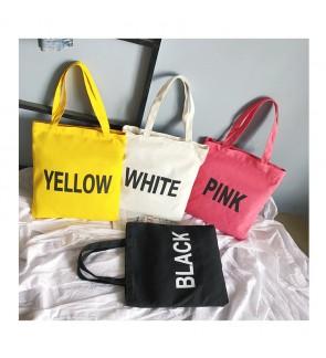 TonyaMall Happy Colour Tuition Shopping Tote Bag