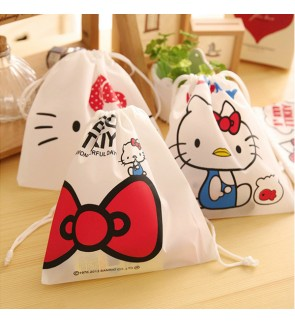 [Ready Stock In Msia] Kitty Design Cosmetic Storage and Organizer Pouch