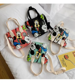 TonyaMall Mickey Series 4 Colours Cartoon Sling Bag