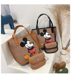 TonyaMall Mickey Series 2 in 1 Shoulder Bag