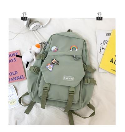 TonyaMall Korean Ulzzang Style College School Backpack Bag