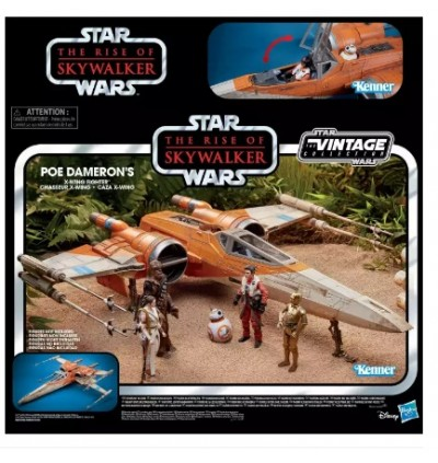 Hasbro Star Wars The Vintage Collection Star Wars: The Rise of Skywalker Poe Dameron's X-Wing Fighter