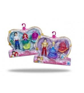 Hasbro Disney Princess and Prince Disney Set Ariel and Eric Cinderella and Prince Charming