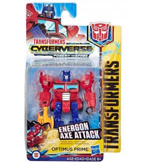 Hasbro Transformers Cyberverse Scout Class Figure Optimus Prime Megatron Bumblebee