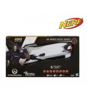 HASBRO Hasbro Overwatch Reaper (Wight Edition) and 8 Overwatch Nerf Rival Rounds