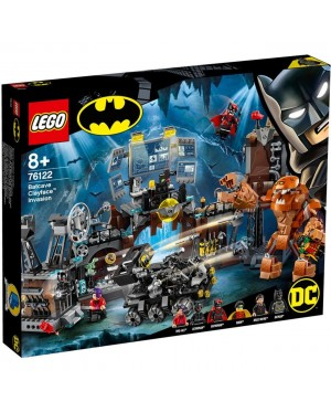 LEGO DC Super Heroes Batman Batcave Clayface Invasion 76122