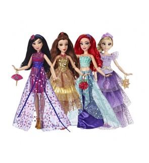 Hasbro Disney Princess Style Series Fashion Doll Rapunzel Mulan Belle Ariel
