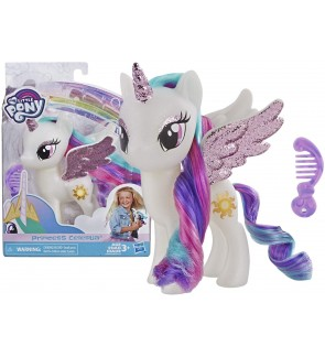 HASBRO My Little Pony Princess Celestia Cute Pony Girls Collection Sparkling Wings