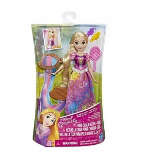 Hasbro Disney Princess Rapunzel Hair Rainbow Styles Play Doll Toys For Girls