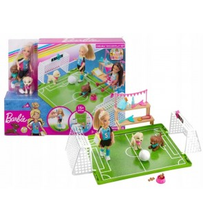 Barbie Chelsea Soccer Playset Mattel Toys For Girls