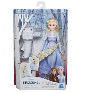 Hasbro Frozen 2 Elsa and Anna Sisters Style Hair Braiding Fun Activities Doll Toys