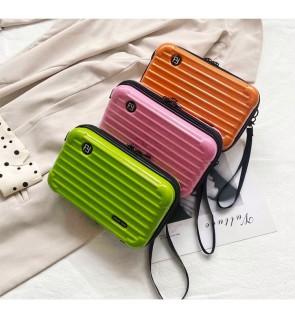 TonyaMall High Grade Luggage PVC Sling Bag