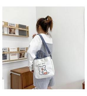 TonyaMall Miyo Fashion Canvas Sling Bag