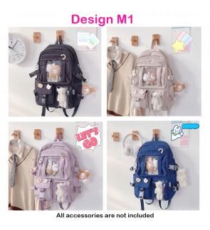 TonyaMall Freestyle Multicompartment Backpack Bag Ulzzang School Bag