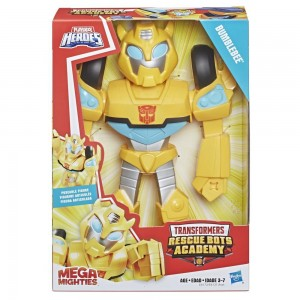 Playskool Heroes Transformers Bumblebee Rescue Bots Academy Mega Mighties Collectible
