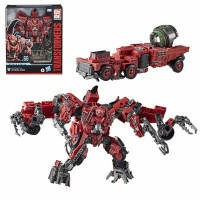 Hasbro Transformers Toys Studio Series 66 Leader Class Revenge of the Fallen Constructicon Overload Action Figure