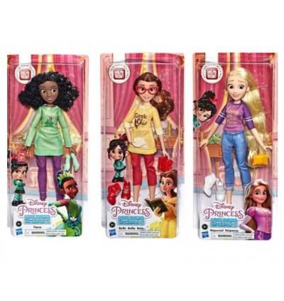 Hasbro Disney Princess Comfy Squad Rapunzel Belle Tiana Ariel