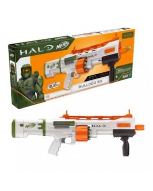 Hasbro Nerf Halo Bulldog SG Dart Blaster -- Pump-Action