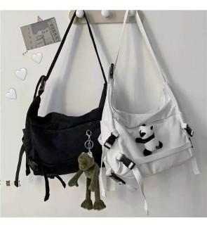 TonyaMall Canvas Sling Bag